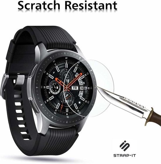 Strap-it® Samsung Galaxy watch screen protector tempered glass - 46mm