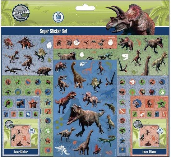 Afbeelding van het spel Stickerset Dinosaurus 500+ Stickers
