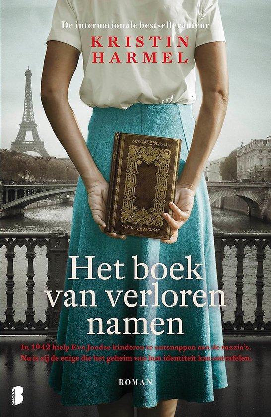 Boek cover Het boek van verloren namen van Kristin Harmel (Paperback)