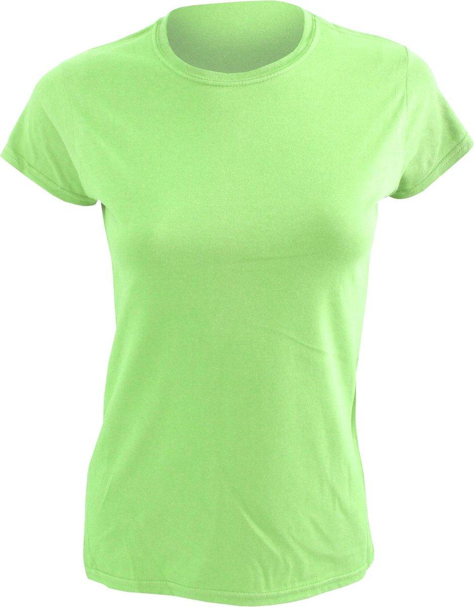 Gildan Dames Zachte Stijl Korte Mouw T-Shirt (Muntgroen)