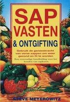Boek cover Sapvasten & ontgifting. Gebruik de geneeskracht van verse sappen om weer gezond en fit te worden van S. Meyerowitz