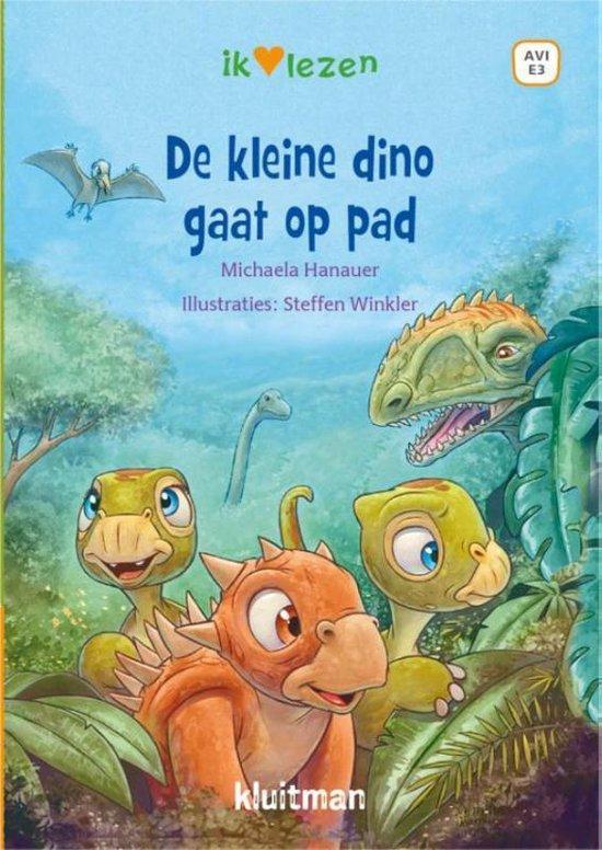 Boek cover De kleine Dino gaat op pad van Michaela Hanauer (Hardcover)
