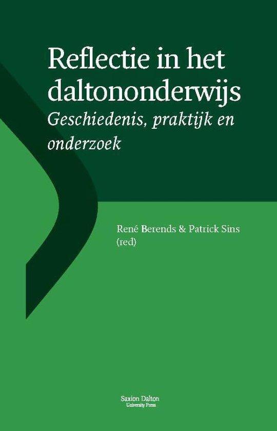 Boek cover Reflectie in het daltononderwijs van René Berends (Paperback)