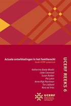 UCERF reeks 6 -   Actuele ontwikkelingen in het familierecht