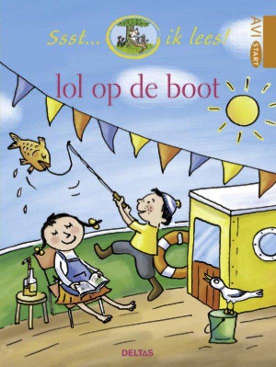 Boek cover Ssst... ik lees!  -   Lol op de boot van Diverse auteurs (Hardcover)