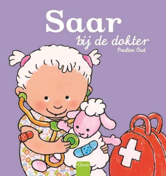 Boek cover Saar bij de dokter van Pauline Oud (Hardcover)