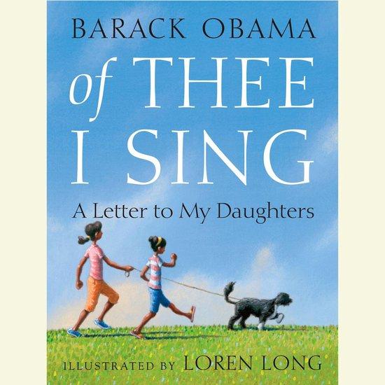 Boek cover Of Thee I Sing van Barack Obama (Onbekend)