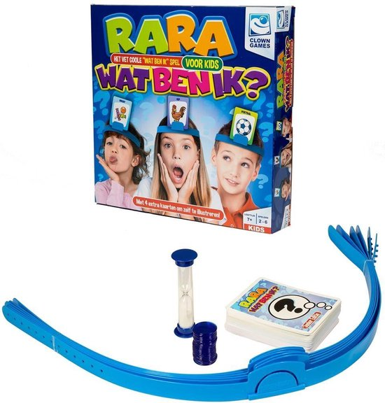 Clown Games - Rara Wat Ben Ik? Junior - spel
