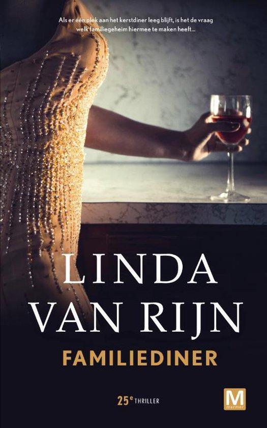 Boek cover Familiediner van Linda van Rijn (Hardcover)