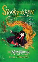Boek cover Nevermoor 3 -   Spookpokken - De jacht op Morrigan Crow van Jessica Townsend (Hardcover)