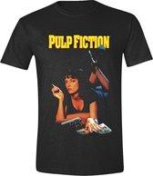 Pulp Fiction - Classic Poster Men T-Shirt - Black - M