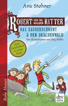 Omslag Robert und die wilden Ritter, Das Zauberschwert - Der Drachenwald