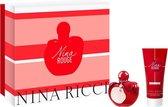 Nina Rouge Eau De Toilette Spray 50ml Set 2 Pieces 2020