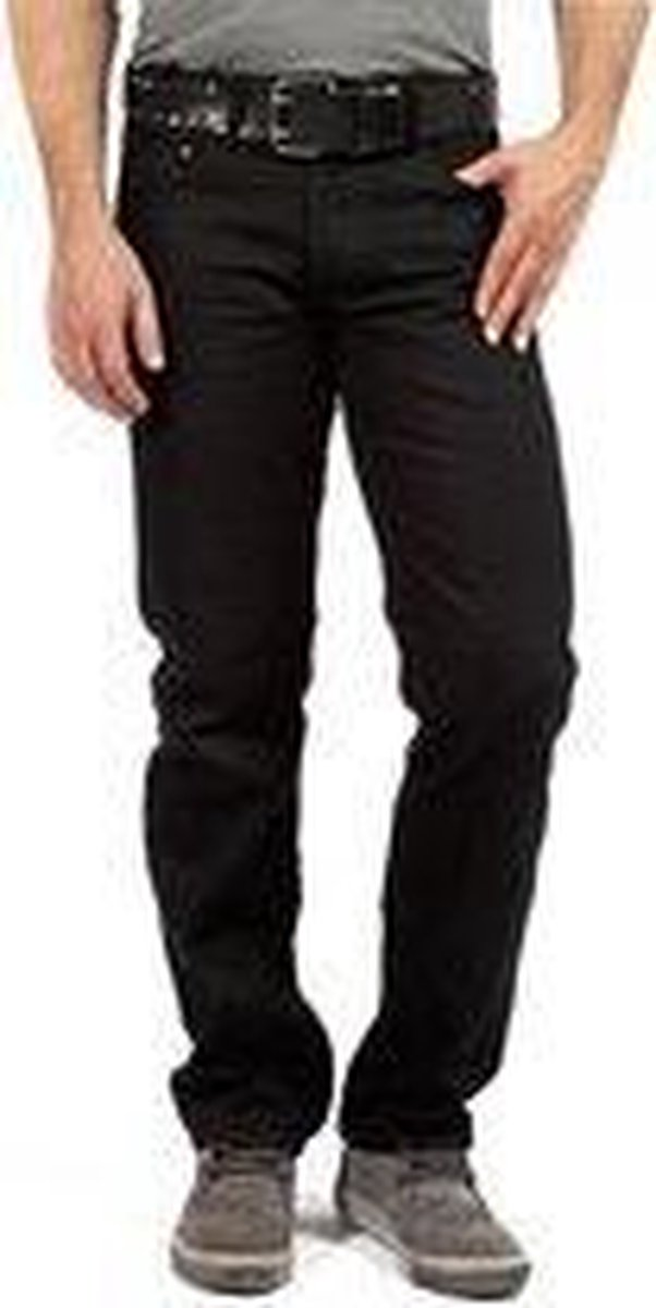 DJX Heren Jeans  221 Regular -  Black - W42 X L34