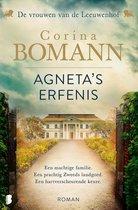 Boek cover Vrouwen van de Leeuwenhof 1 -   Agnetas erfenis van Corina Bomann (Paperback)