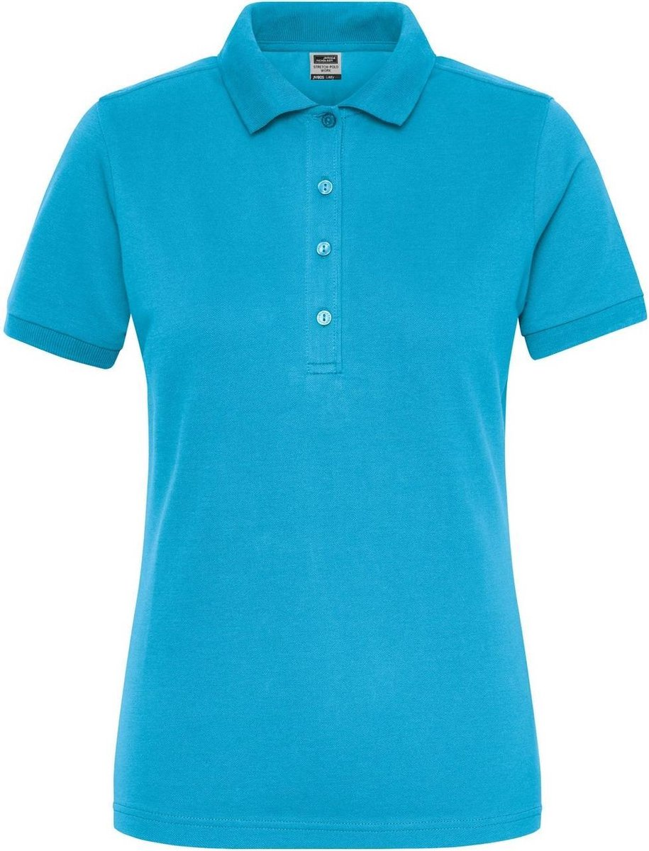 James and Nicholson Dames/dames Bio Stretch Polo Shirt (Turquoise)