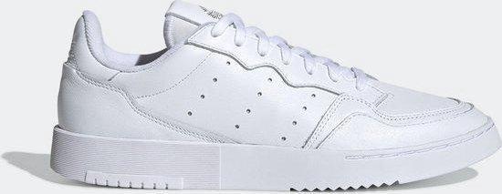 adidas Supercourt Heren Sneakers - Ftwr White/Ftwr White/Core Black - Maat 46