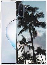 Galaxy Note 10 Plus Hoesje Palmtrees
