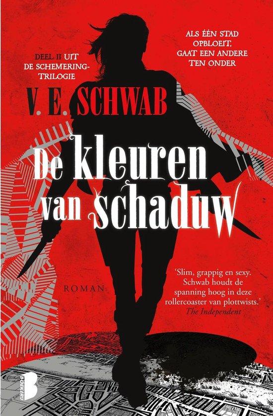 Boek cover De kleuren van schaduw van V.E. Schwab (Onbekend)