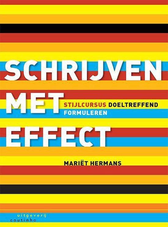 Schrijven met effect - Mariët Hermans |