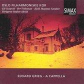 Grieg A Cappella
