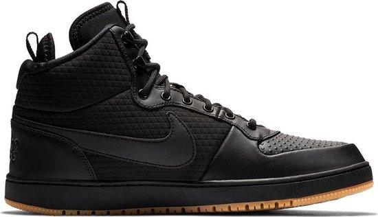 Nike Ebernon Mid Mens Schoenen zwart 45