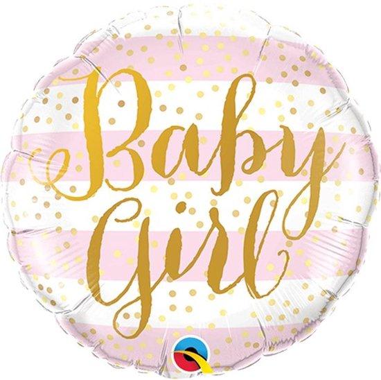 Folie ballon Baby Girl - 46 cm