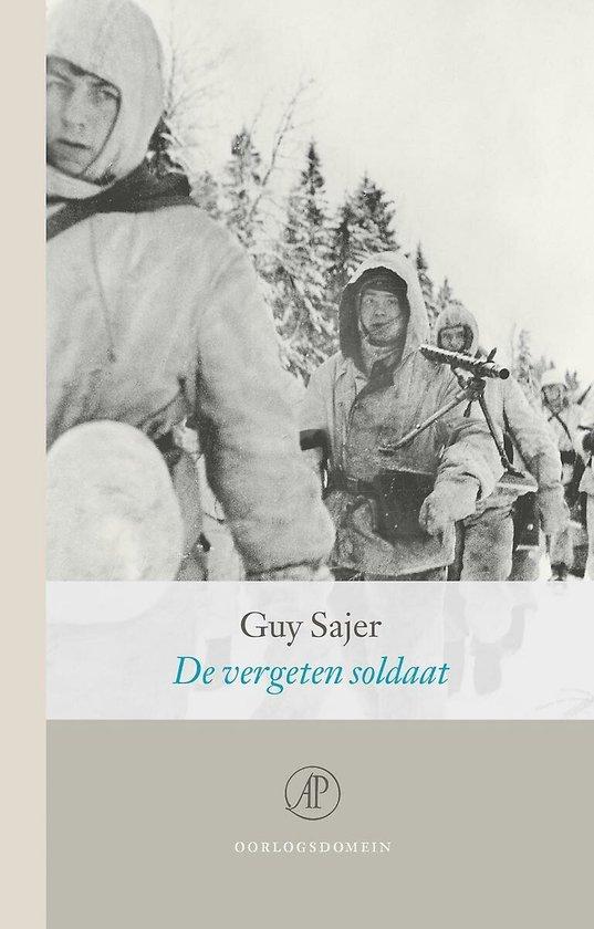 Boek cover De vergeten soldaat van Guy Sajer (Hardcover)