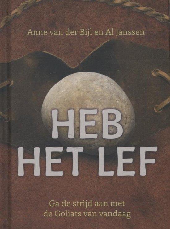 Cover van het boek 'Heb het lef' van Anne van der Bijl