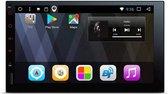 Universeel navigatie systeem Geschikt voor 1DIN en 2DIN 7 Android 7.1 Nougat 32GB ROM + 2GB DDR3 RAM Octa-Core