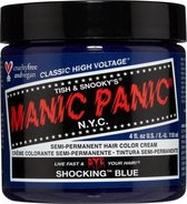 Manic Panic Semi permanente haarverf Shocking Blue Classic Blauw