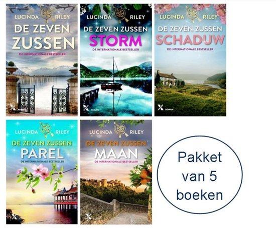 De Zeven Zussen - Lucinda Riley Nederlandse boeken - Pakket De Zeven Zussen 1,2,3,4 en 5 - Lucinda Riley de Zeven Zussen