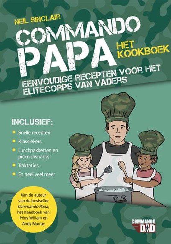 Commando papa-het kookboek