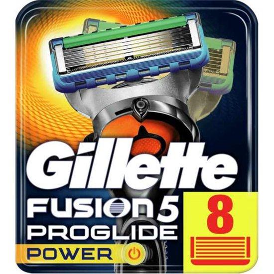 Gillette Fusion Proglide Power - 8 stuks