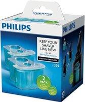 Philips reiniging reiniger cartridge scheerapparaat - SmartClean - 2 stuks