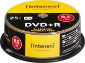 Intenso DVD+R 8,5 GB DL Double Layer 8x Speed - 25st Gebaksdoos