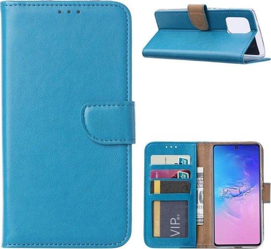 Samsung Galaxy S10 Lite 2020 - Bookcase Turquoise - portemonee hoesje