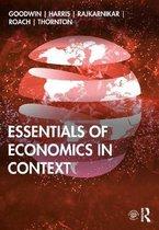 Boek cover Essentials of Economics in Context van Neva Goodwin