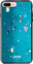 iPhone 7 Plus Hoesje TPU Case - Confetti #ffffff