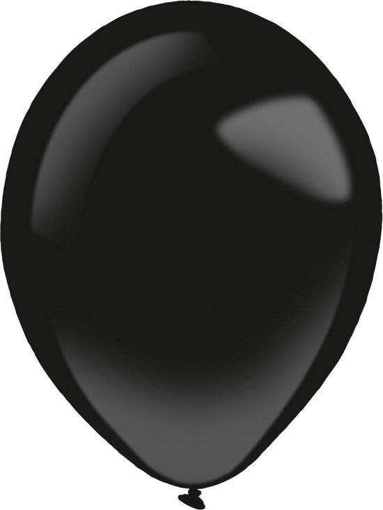 Amscan Ballonnen Fashion 12 Cm Latex Zwart 100 Stuks