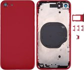 Let op type!! Back Housing Cover for iPhone 8 (Red)