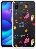 Xiaomi Mi Play Hoesje Summer Flamingo