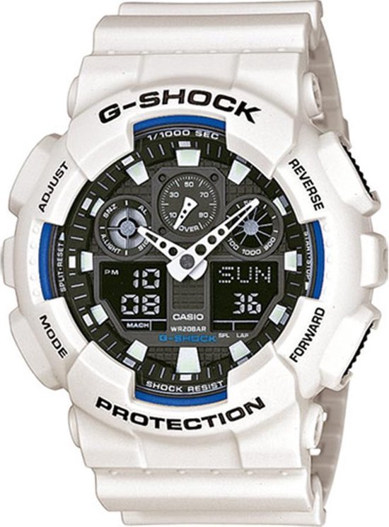 Casio G-Shock GA-100B-7AER Heren Horloge - 51 mm