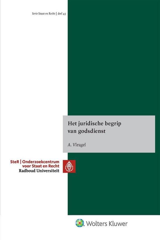 Het juridische begrip van godsdienst - A. Vleugel pdf epub