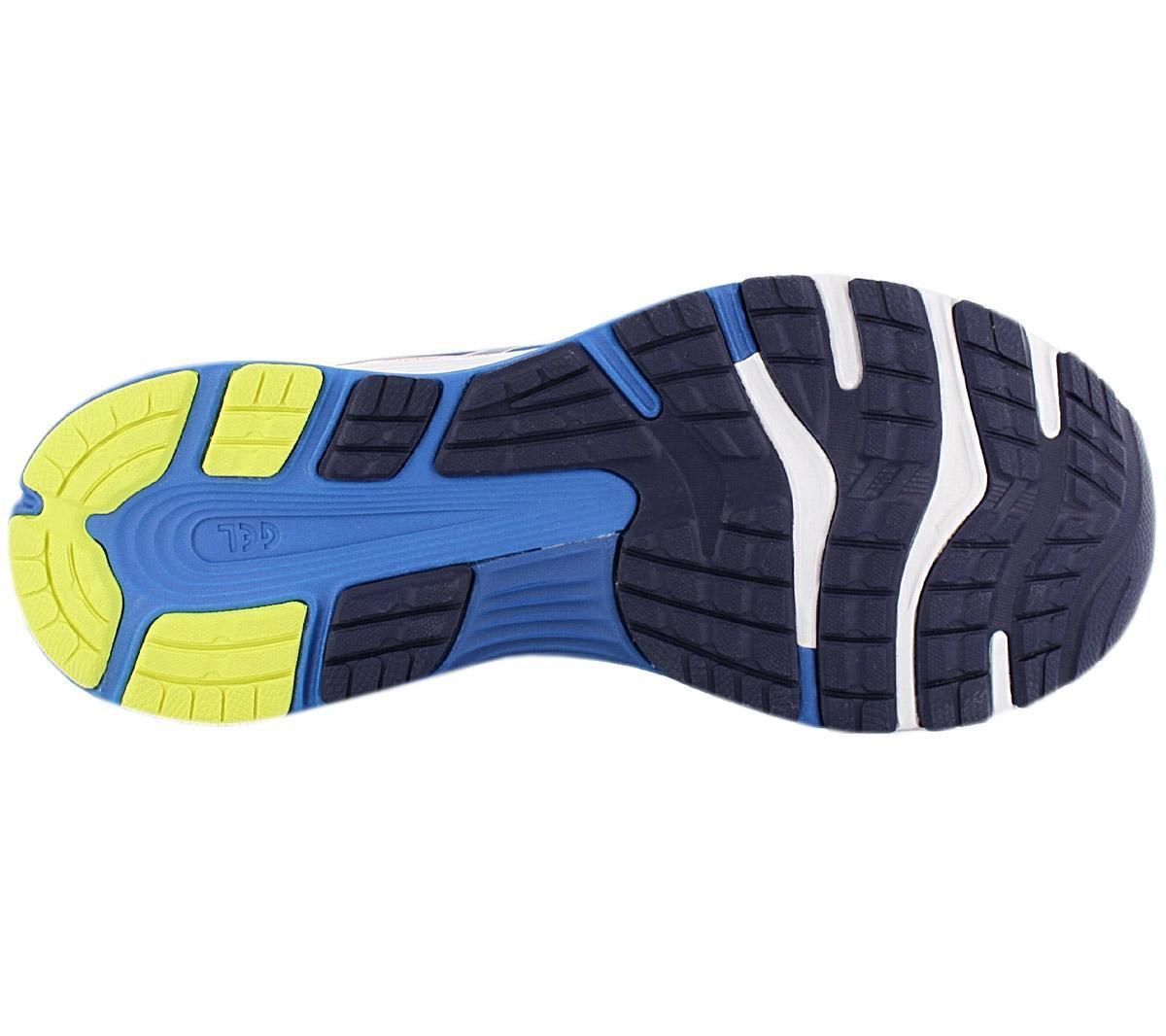 Asics Gel Nimbus 2 Sportschoenen Maat 45 Mannen blauwwitoranje