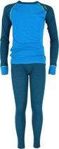 Sway Thermoset Jongens - Blauw/Groen - Maat 146/152 (10 jaar)