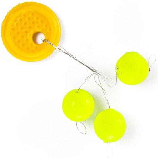 Troutlook Pilot Spion Ball - Geel - 10mm - 3 stuks