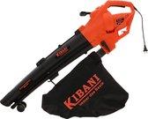 Kibani 3-in-1 Elektrische Bladblazer - Luchtsnelheid 270 km/h - 3000 Watt - Incl. 35L opvangzak