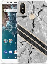 Xiaomi Mi A2 Hoesje Marble Wood
