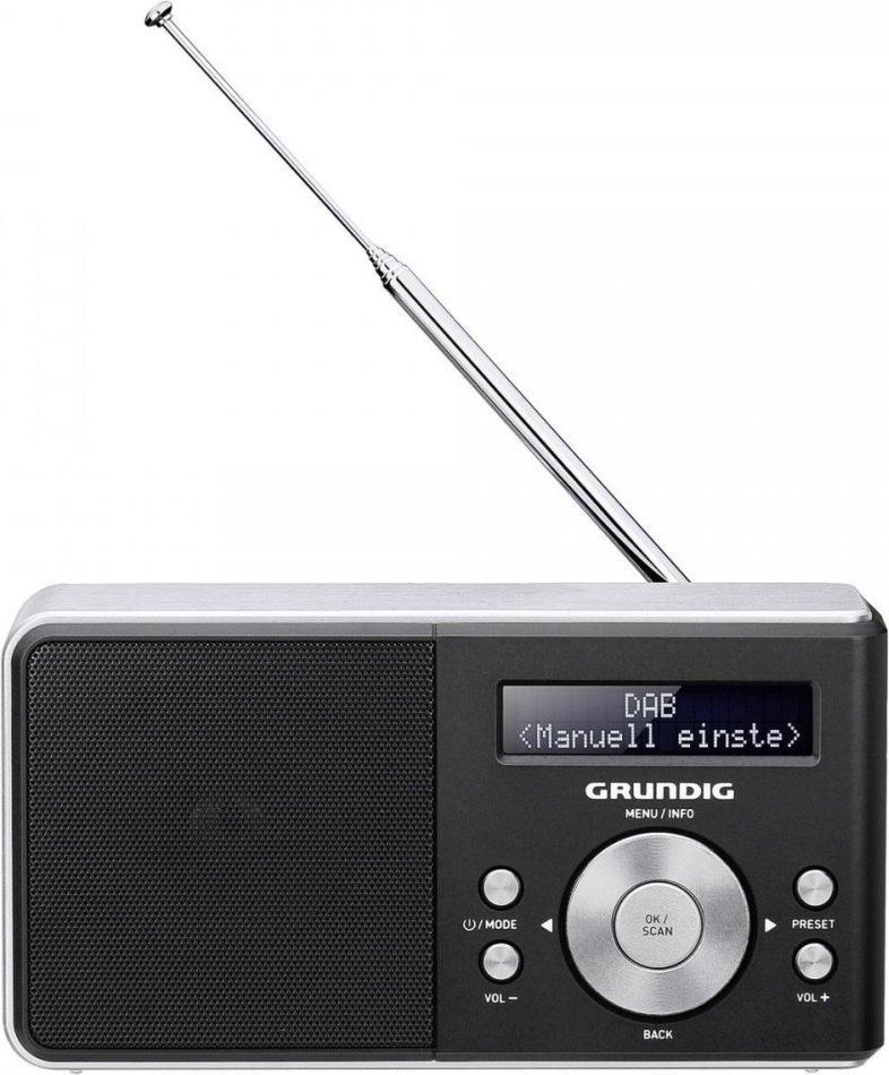 Grundig Music 5000 DAB+ Persoonlijk Digitaal Zwart radio